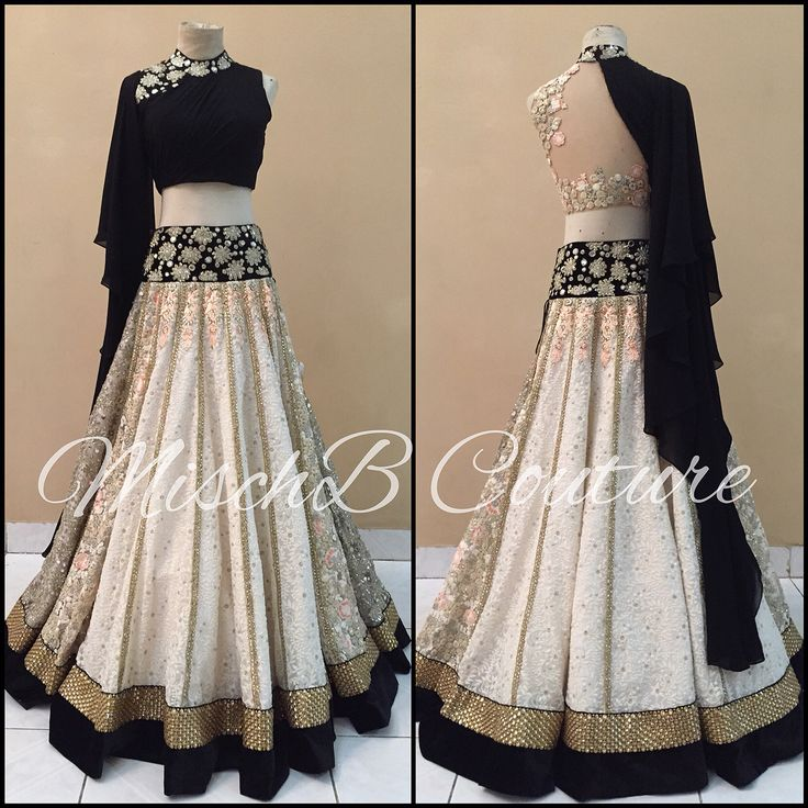 All That Glitters, lehenga by MischB Couture