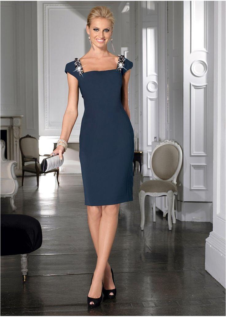 Sukienka ołówkowa z perełkami Na • 179.99 zł • bonprix