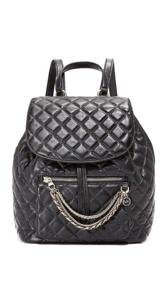 MICHAEL MICHAEL KORS Cheyenne Quilt Backpack. #michaelmichaelkors #bags #leather #backpacks #