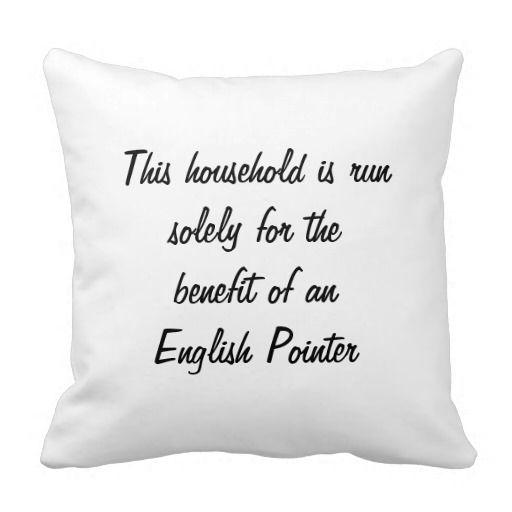 English Pointer dog beautiful photo cushion pillow. http://www.zazzle.com/english_pointer_dog_beautiful_photo_cushion_pillow-189209957336704277?rf=238671089205373267