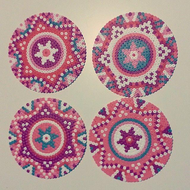 Mandalas hama beads by team_piiparinen