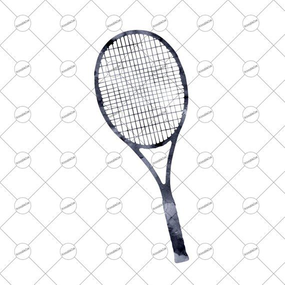 Sublimation Designs Downloads Tennis Watercolor Tennis Png Tennis Sublimation Graphics Cricut Downloads Tennis Racket Png Clip Art Design Sublime