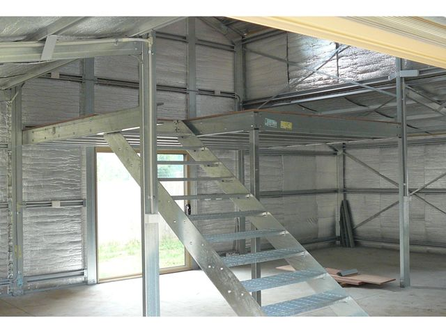 162 best images about the industrial look on pinterest for How to build a mezzanine floor in a garage
