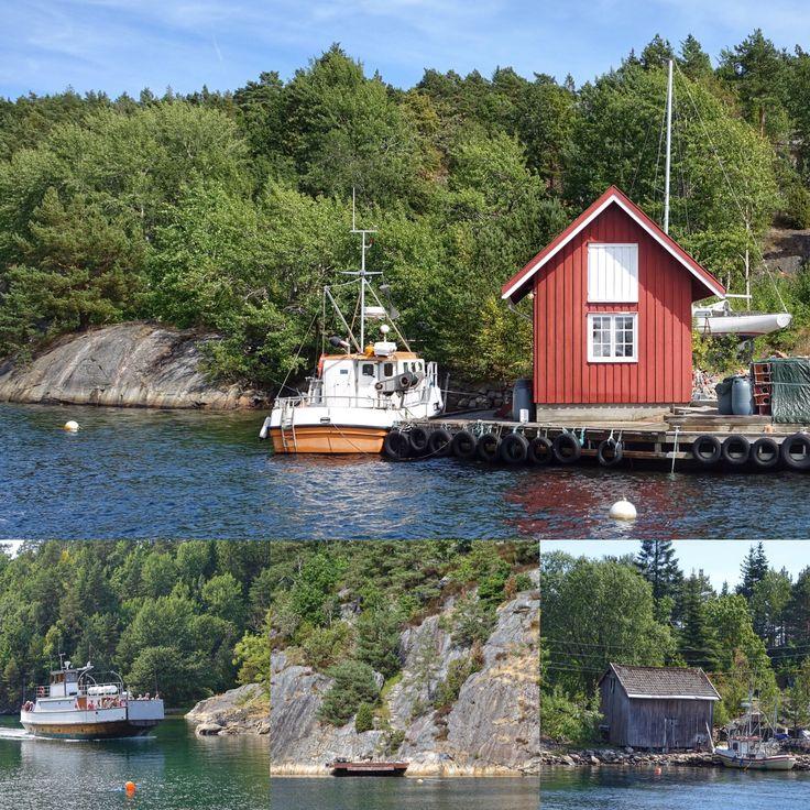 norge | sørlandet | risør | ferge til øysang