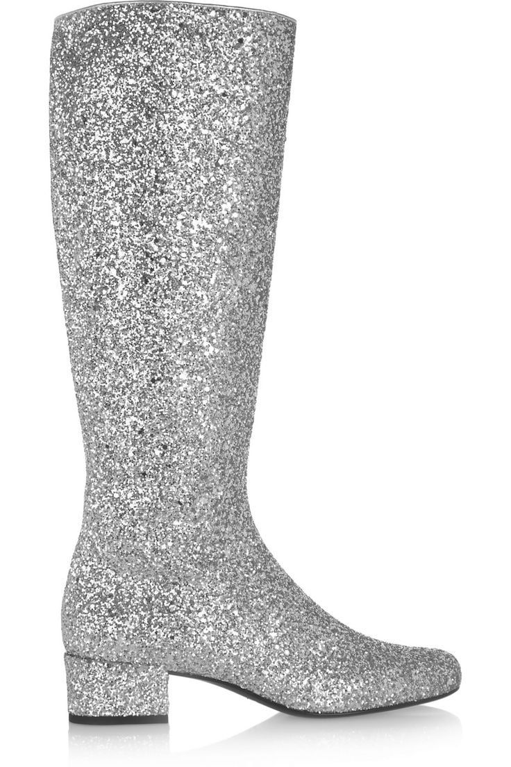 Glitter Thigh High Boots | boots for fun | Pinterest | Čižmy ...
