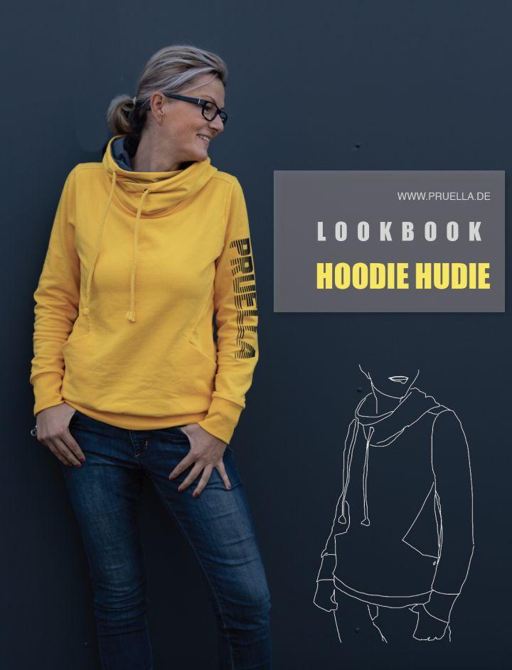 Pruella Schnittmuster Lookbook Hoodie Hudie – Prülla