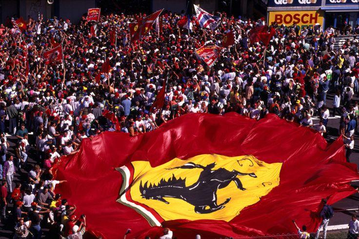 Tifosi - Fans of Ferrari's F1 Team
