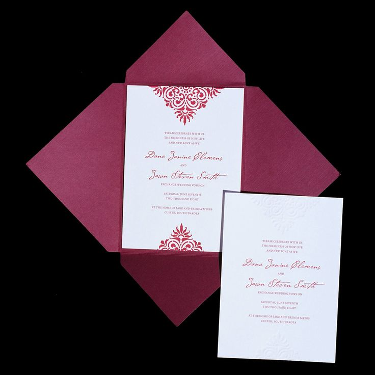how to start my own invitation printing business%0A Invite in an envelope