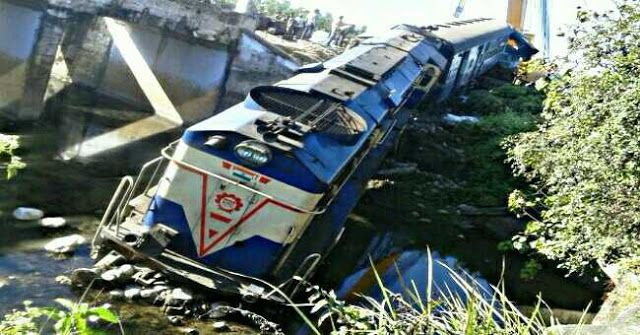 2 Killed 6 Injured in NorthBengal Train Accident - Engine Falls in River after Derailment   Two persons were killed and six injured when the engine and two coaches of a train derailed in WestBengal on Tuesday night an official said on Wednesday.The Rajendra Nagar-Guwahati Capital Express derailed atSamuktalaRoad station in Alipurduar district on Tuesday night North East Frontier Railway Chief Public Relation Officer (CPRO) Pranav Jyoti Sharma said.The injured persons were identified as…