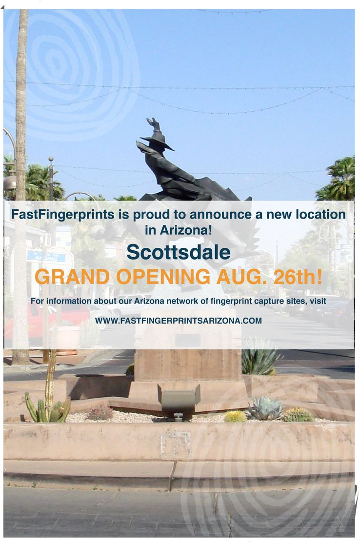 Fastfingerprints scottsdale scottsdale locations visiting