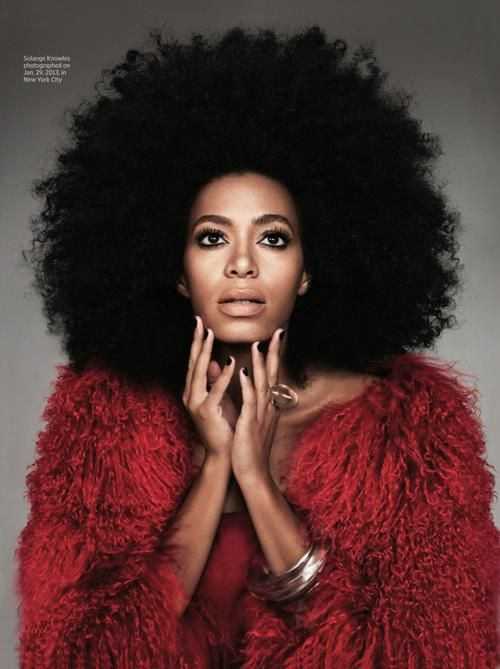 #solange knowles. love her unique style.