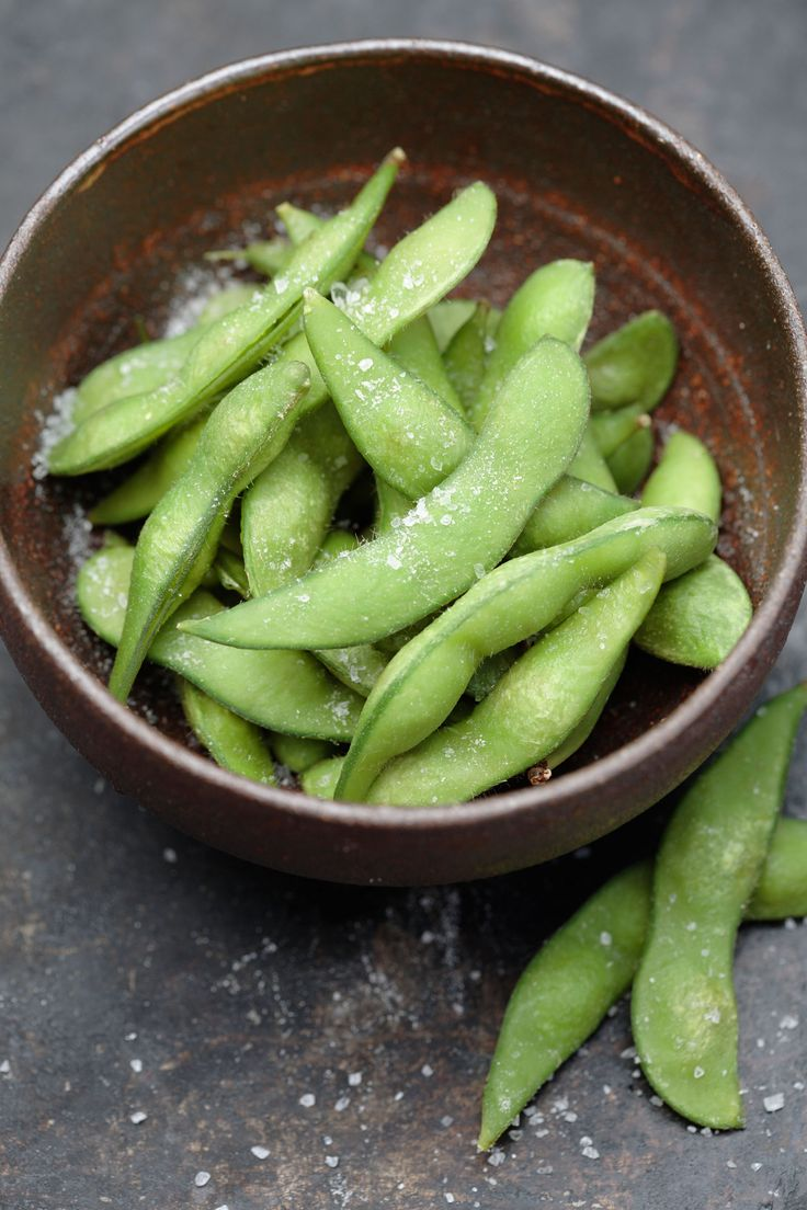 """Fiber is the magic ingredient when you're trying to lose weight—it slows digestion and helps you feel full,"" says Ansel. And edamame is chock-full of it. Sprinkle a little sea salt on one cup of the soybeans for a sinless snack with 8 grams of fiber and less than 200 calories.   - Delish.com"