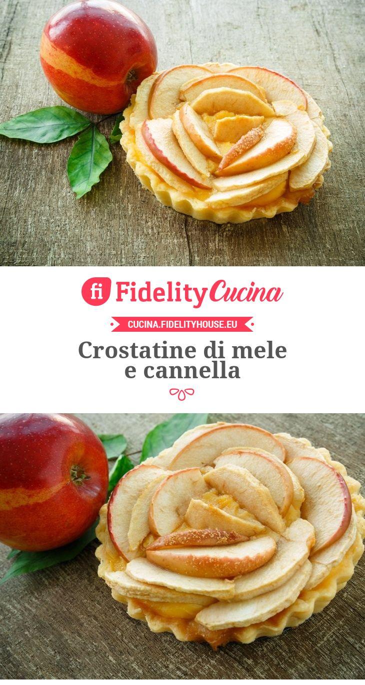 Crostatine di mele e cannella