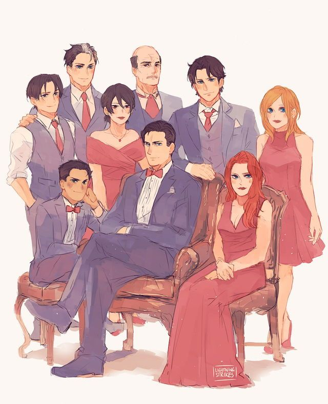 I adore Bat Family photos~