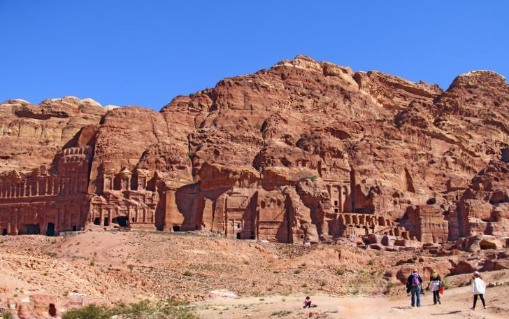 Antik Kent Petra Royal Tombs