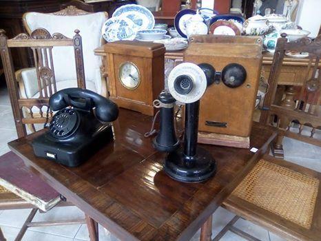 Leich Lectric co Genoa ILL USA cadlestick phone cerca 1895-1920