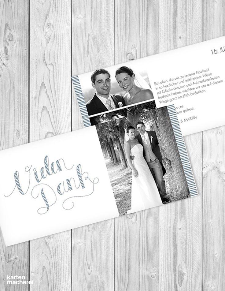 59 best Hochzeit   Dankeskarten images on Pinterest