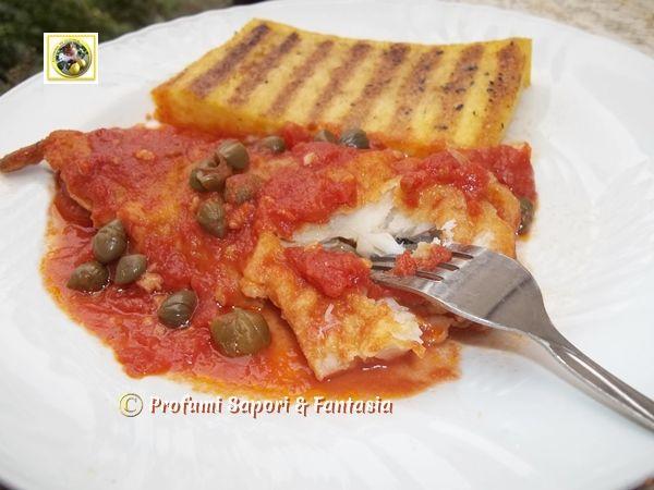Filetti di merluzzo alla pizzaiola Blog Profumi Sapori & Fantasia