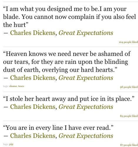 Great expectations the book /essay