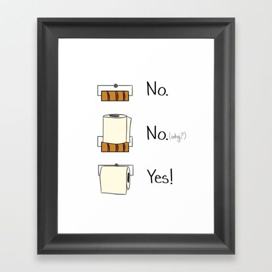 bathroom, funny, toilet paper, home decor