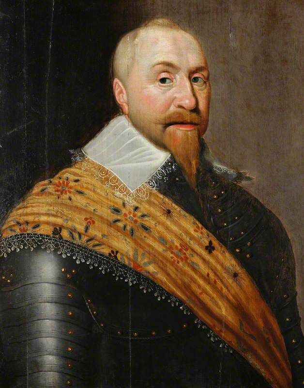 Gustav Adolphus. 1594 - 1632. Gustav Adolphus was King of Sweden when the Thirty Years War broke out in 1618. Having already built up Sweden's economy and reformed the army, he had ensured that Sweden was well prepared for the war, bringing his country into the war in 1631. He was a talented and brave commander but was killed at the Battle of Lutzen a year later after his wounded horse carried him into the middle of the Habsburg line.