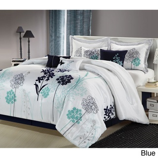 @Overstock - A floral escape, the Oasis Collection transforms the bed into a garden of luxury. This set showcases a romantic flower design on a soft color backround that evokes the essence of natural beauty with a purely modern allure.http://www.overstock.com/Bedding-Bath/Oasis-8-piece-Comforter-Set/7710924/product.html?CID=214117 $89.99