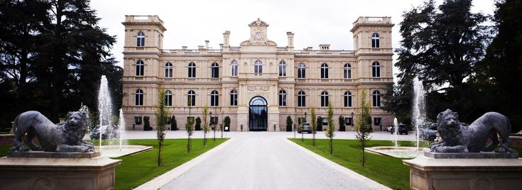 """Château de Ferrières - France - Château build by the French Rothschild Family Branch at a Goût Rothschild Style - """"No Kings could afford this! It could only belong to a Rothschild""""  Wilhelm I the Emperor of Germany on visiting Ferrières. (Now a culinary school). [1920x700]"""
