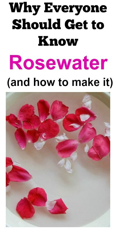 Why Everyone Should Get To Know Rosewater (and how to make it). Rosewater is amazing!!!