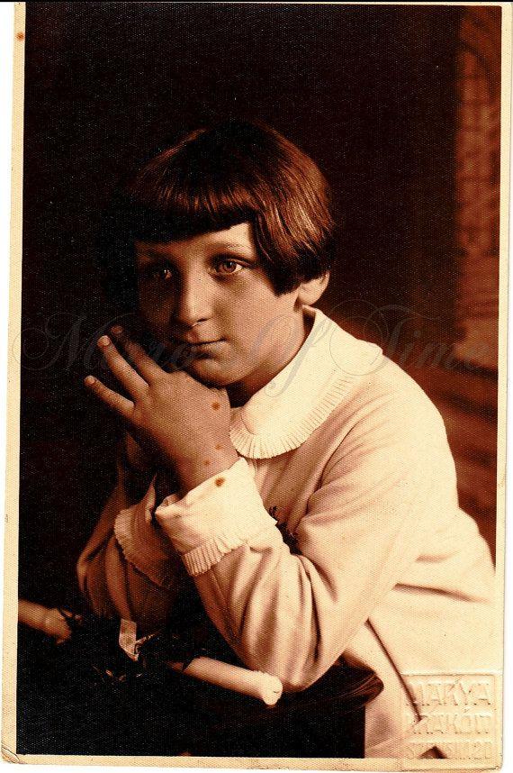 Vintage Photo  Boy Portrait  Boy photo  First by MirrorsOfTime