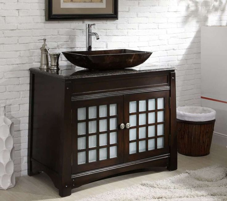 The Vessel Sink Continues To Be A Popular Choice For A Bathroom