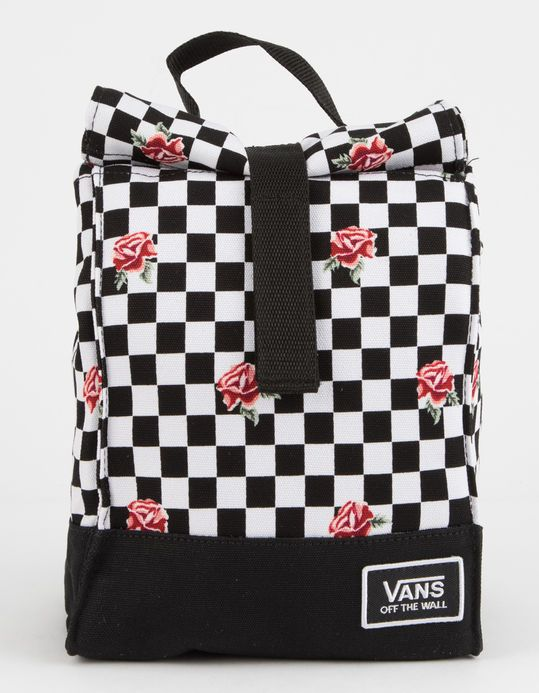 a326d782ebf VANS Mow Rose Checkerboard Lunch Bag   Get in my CLOSET! in 2019 ...