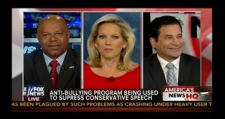 Fox News: Anti-Bullying Policies Limit Conservatives' Free Speech