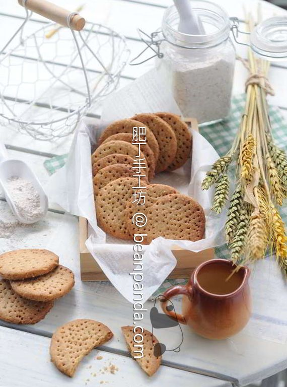 Homemade Digestive Biscuit