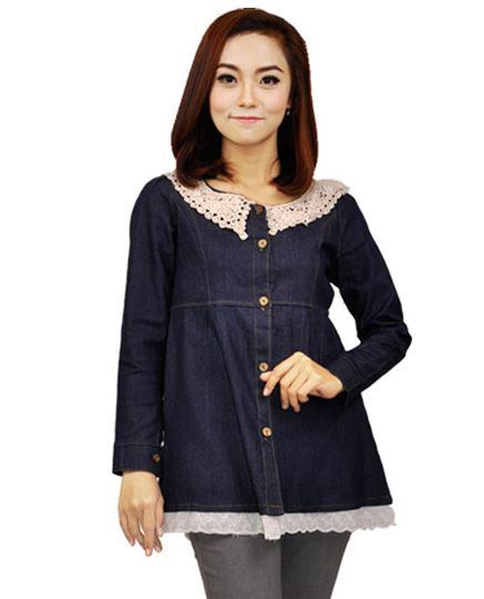 Baju Blus Wanita (ADC 414) • Toko Pakaian dan Baju Distro Menjual Pakaian Pria dan Wanita | Kaos, Jaket, Kemeja, Tas, Sepatu dan sandal