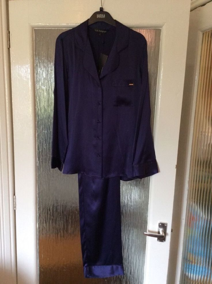 M&S ROSIE AUTOGRAPH ladies PYJAMA 100%SILK UK8 EU36 BNWT LUXURY RRP£99