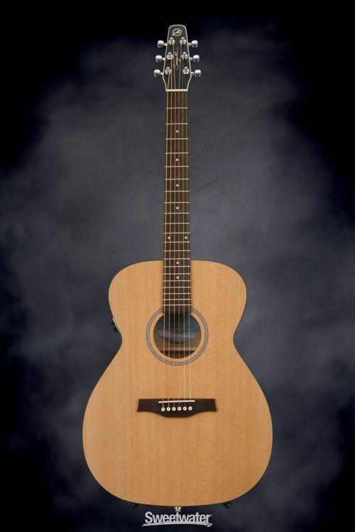 Seagull Guitars S6 Original Concert Hall Acoustic-electric - Cedar | Sweetwater.com