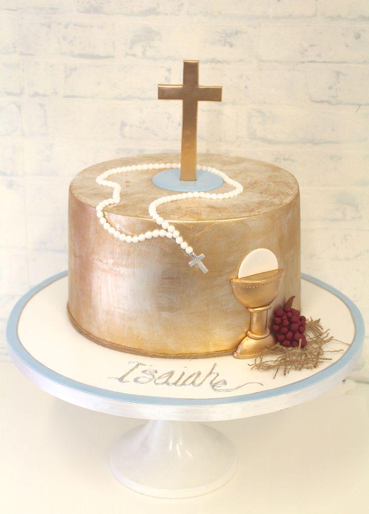 Best 20 communion cakes ideas on pinterest holy for 1st holy communion cake decoration ideas