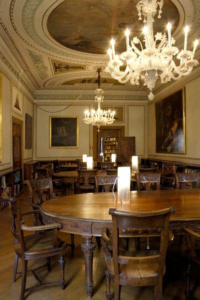 Sala lettura, Biblioteca Fondazione Querini Stampalia #biblioteca #querinistampalia