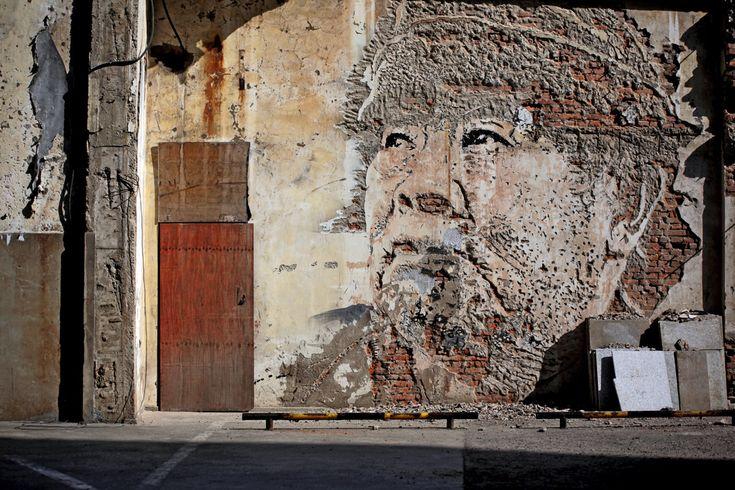 Shangai: Street Artists, Fed Alexandre, Art Blog, Wall Murals, The Faces, Portraits, Art Projects, Streetart, Vhil