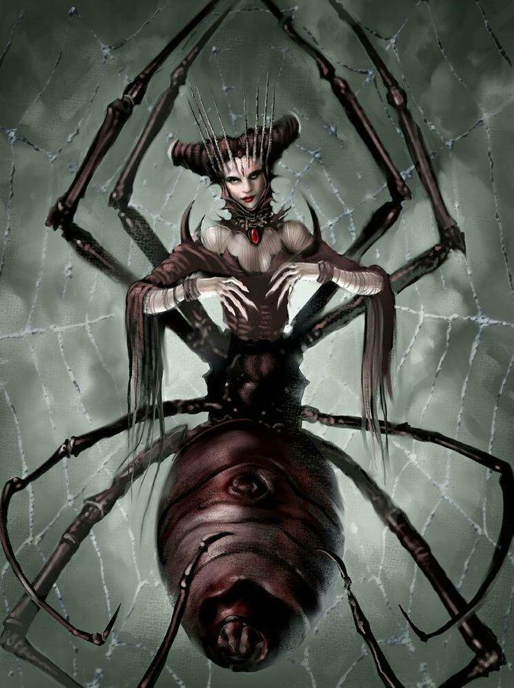 паук и паучиха картинки быть такое что