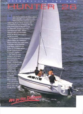 En venta de Ocasión Hunter Cruise Pac Sailboat