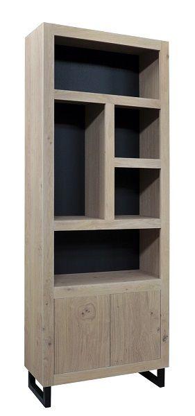 vakkenkast 5 vaks 2 drs €1.829,- 235x90x40 cm #meubls #vakkenkast #cupboard #kast #black  #cabinet #maatwerk #accessories #wood #woodworking #eiken #MDF #interior #styling #interiorstyling #natural #home #wonen #living #lifestyle #luxuryliving #interieuradvies #interieurinspiratie #livingroom #living #interior4all #design #designhome #mooiwonen #dutchdesign #madeinholland