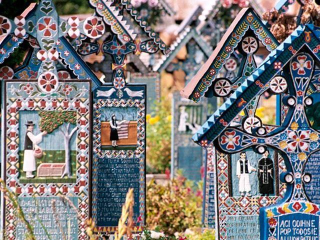 Sapanta Merry Cemetery, Romania