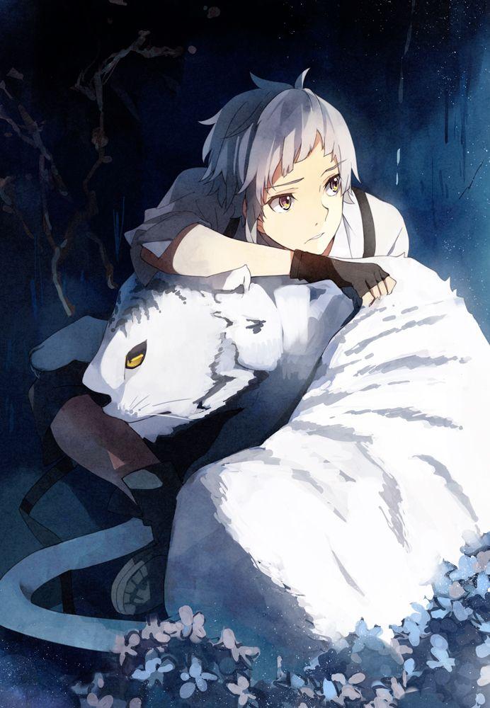 Nakajima Atsushi ~ Bungou Stray Dogs (Seinen, Sobrenatural, Misterio, Acción, Comedia, Anime Primavera 2016)