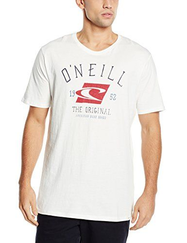 ONeill Mens LM The Surf Brand T-Shirt Regular Fit Short Sleeve T-Shirt, White (Powder White), Large No description (Barcode EAN = 8718705682545). http://www.comparestoreprices.co.uk/december-2016-5/oneill-mens-lm-the-surf-brand-t-shirt-regular-fit-short-sleeve-t-shirt-white-powder-white--large.asp