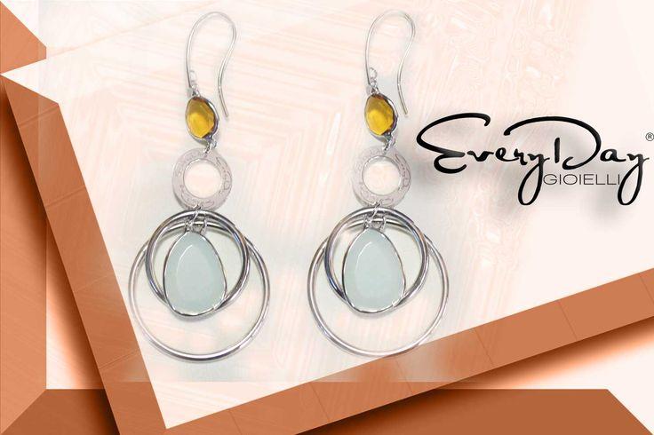 925 silver Earrings Everydaygioielli #pic #lovely  www.fashiongoldgioielli.com #bijoux #donna #heart #foto #fashion #cuore #bizitalk #teamfollowback #promotingUK