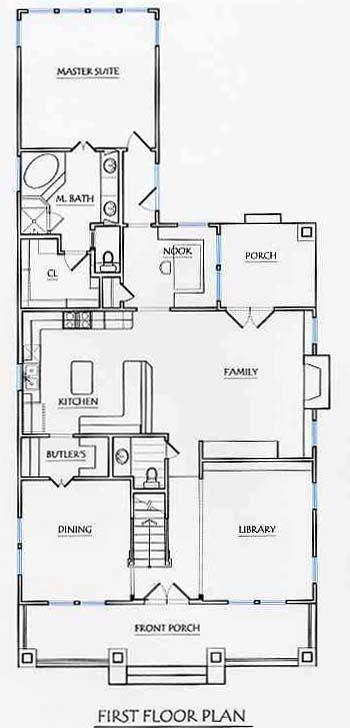 texas house plans four square design