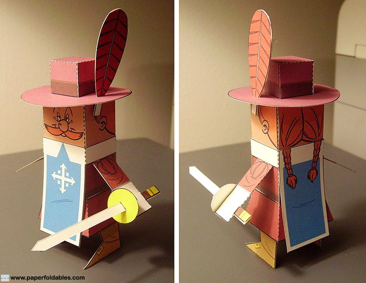 """Paper Foldable commission for LEGENDO promoting their video game, """"The Three Musketeers: One For All""""..."""