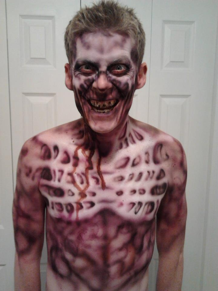 140 best airbrush images on Pinterest | Fx makeup, Halloween ...