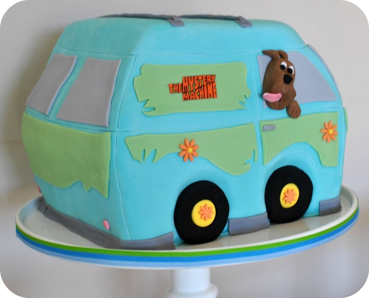 scooby doo cupcakes see more mystery machine cake taylor made baking october 2011 - Scooby Doo Halloween Decorations